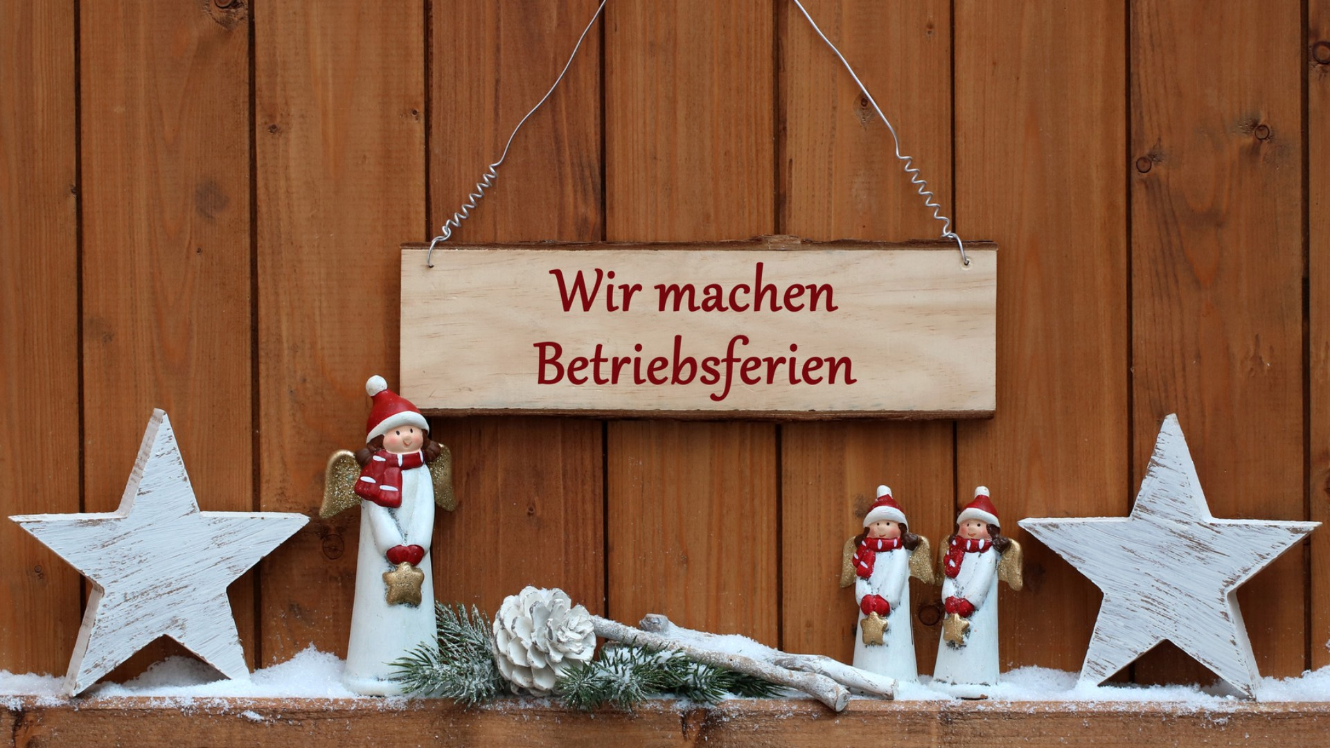 Betriebsurlaub An Weihnachten